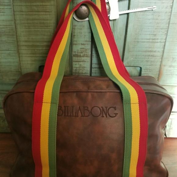 0924b7879420 Billabong Handbags - BILLABONG HTF RARE REGGAE STRAP XL OVERNIGHT BAG